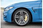 BMW M3, BMW M4, Reifen Fahrwerk, Bremsen