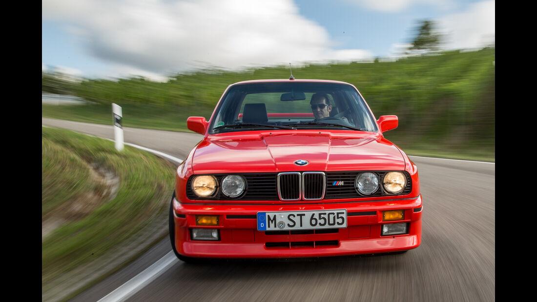 BMW M3, Baureihe E30, Frontansicht