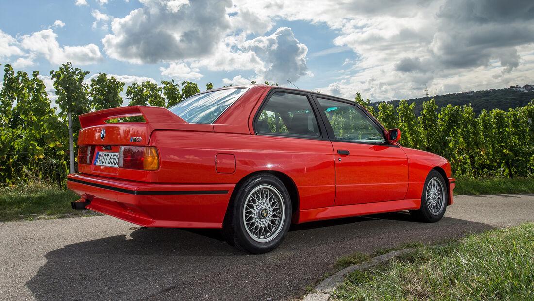 BMW M3, Baureihe E30, Seitenansicht