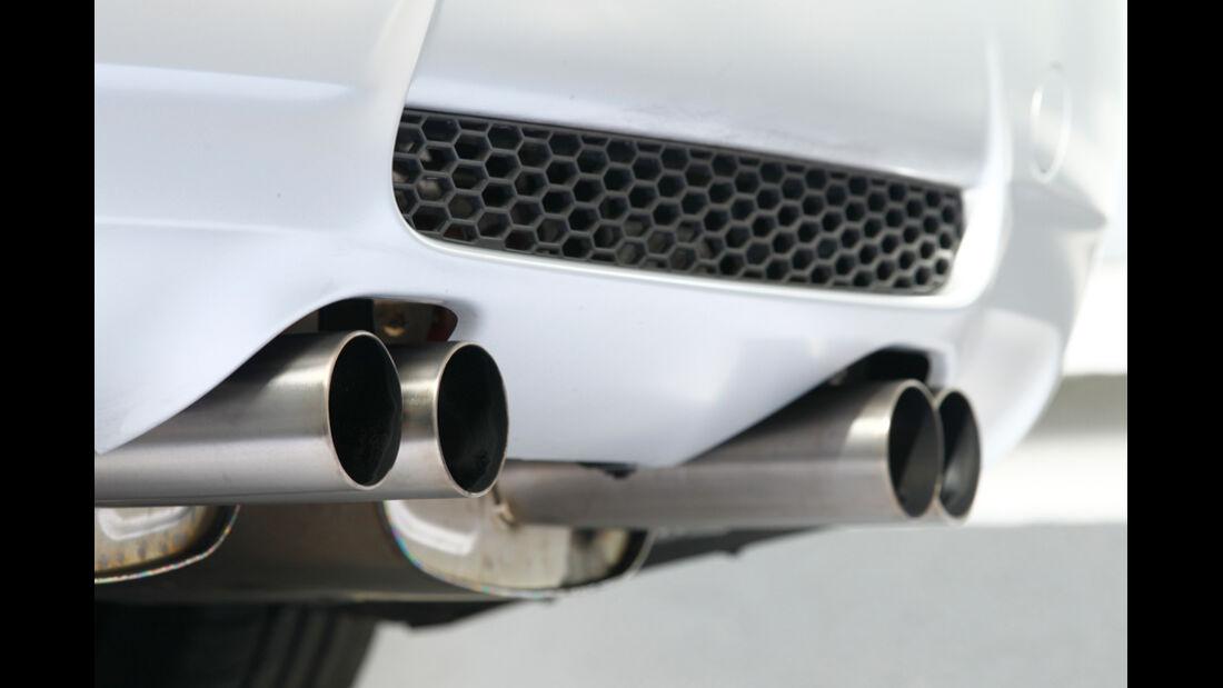 BMW M3 CRT, Auspuff