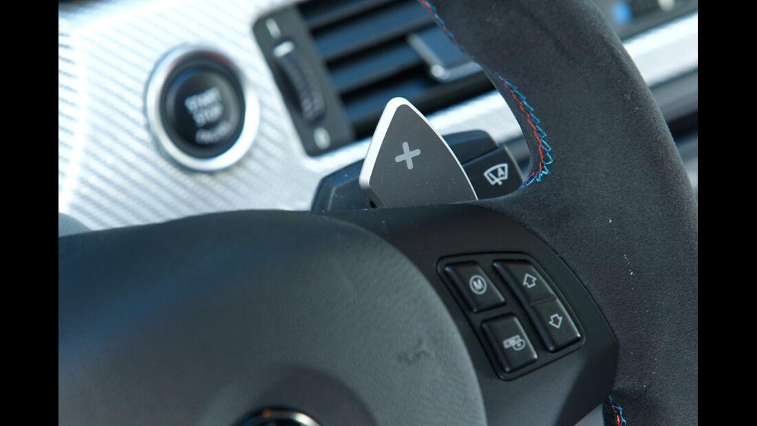 BMW M3 CRT, Lenkrad, Kippschalter