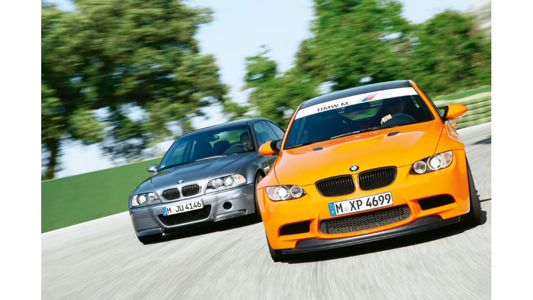BMW M3 CSL (E 46), BMW M3 GTS (E 92)
