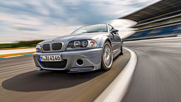 BMW M3 CSL, Exterieur