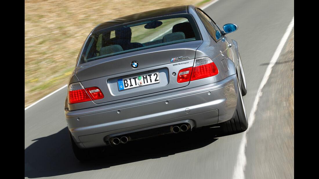 BMW M3 CSL, Heck