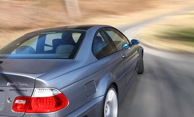 BMW M3 CSL, Heck, Seitenlinie