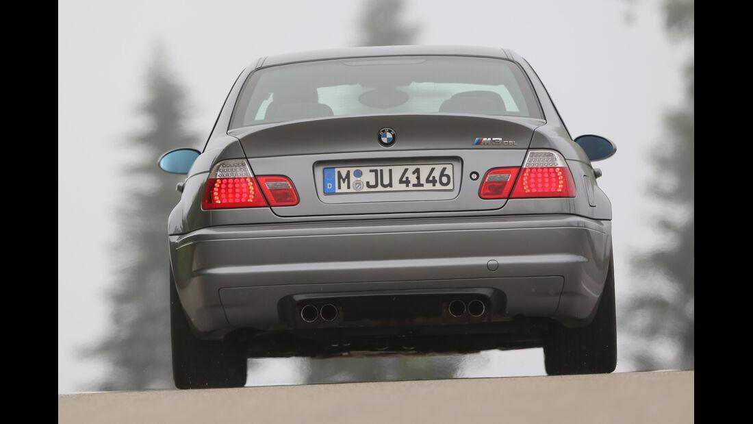 BMW M3 CSL, Heckansicht