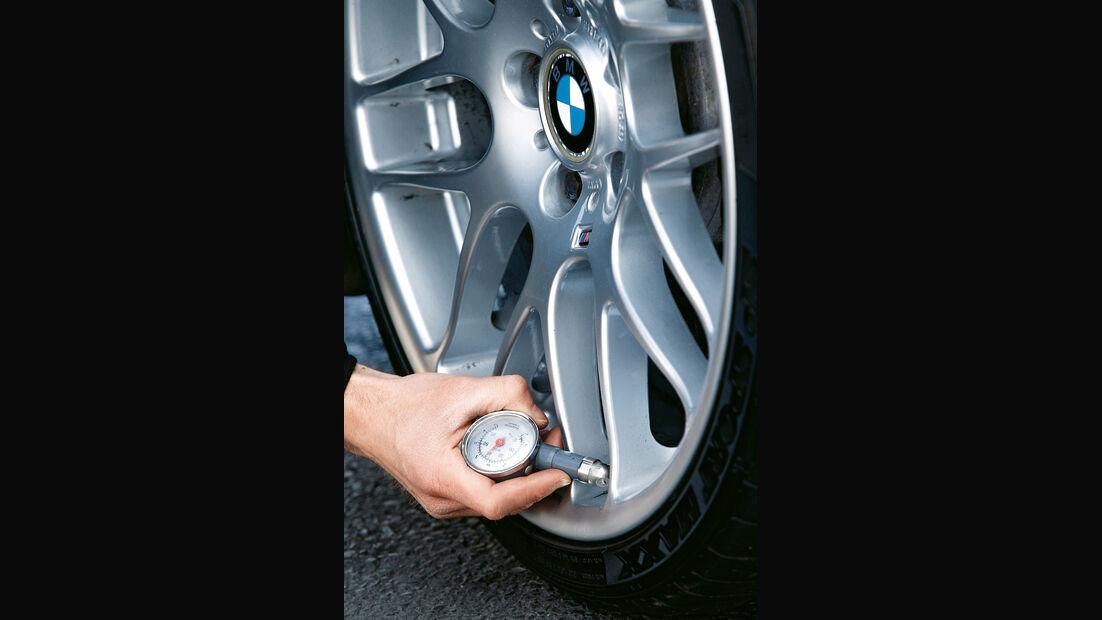 BMW M3 CSL, Rad, Felge, Reifendruck