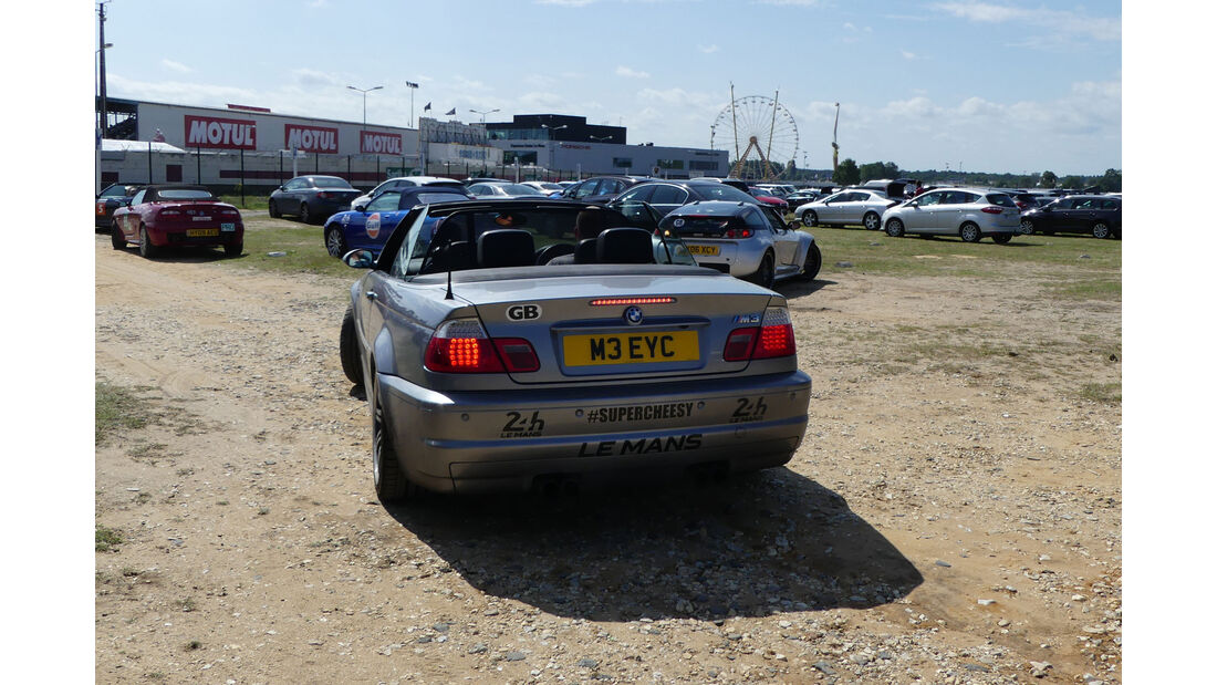 BMW M3 Cabrio - Carspotting - 24h Le Mans 2018