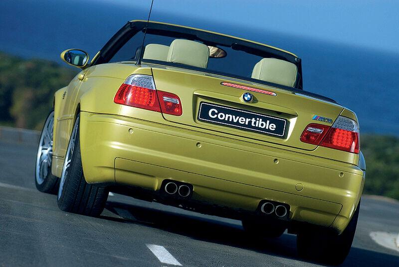 BMW M3 Cabrio, E46