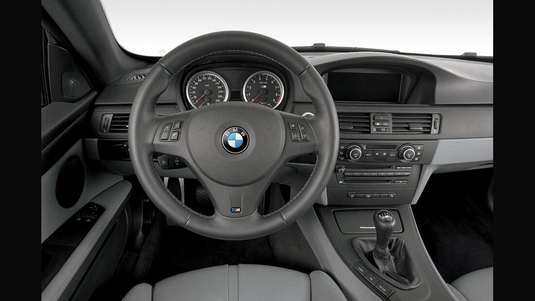 BMW M3, Cockpit, E90