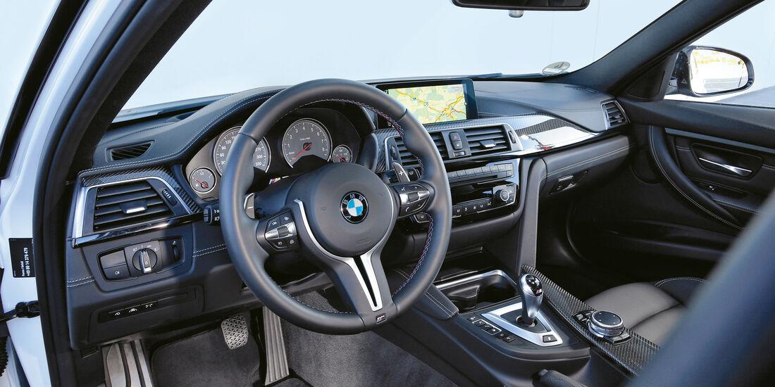 BMW M3 Competition, Cockpit