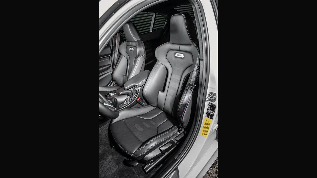 BMW M3 Competition, Fahrersitz