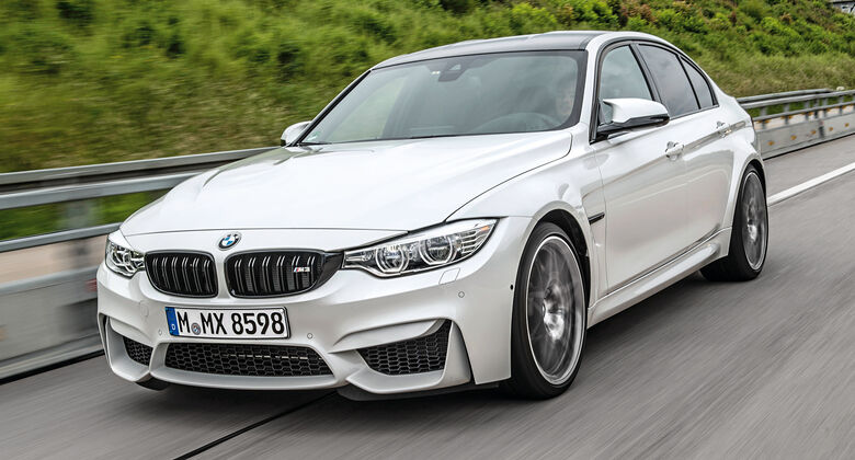 BMW M3 Competition, Frontansicht