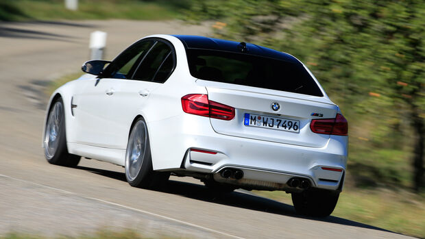 BMW M3 Competition, Heckansicht