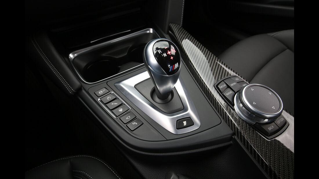 BMW M3 Competition, Schalthebel