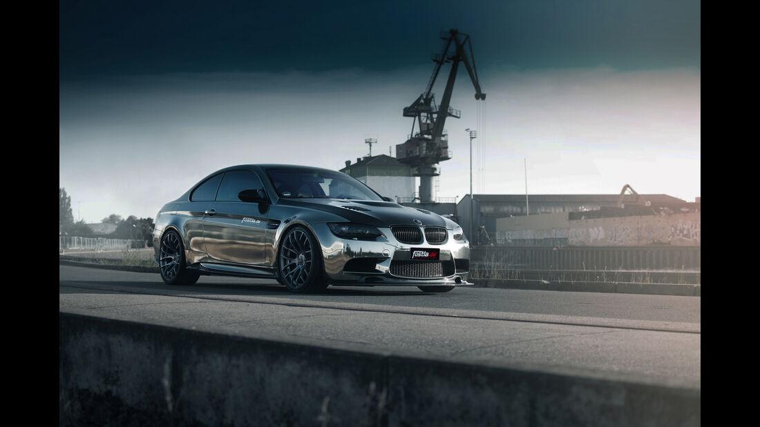 BMW M3-Coupé Black Chrome by Fostla.de