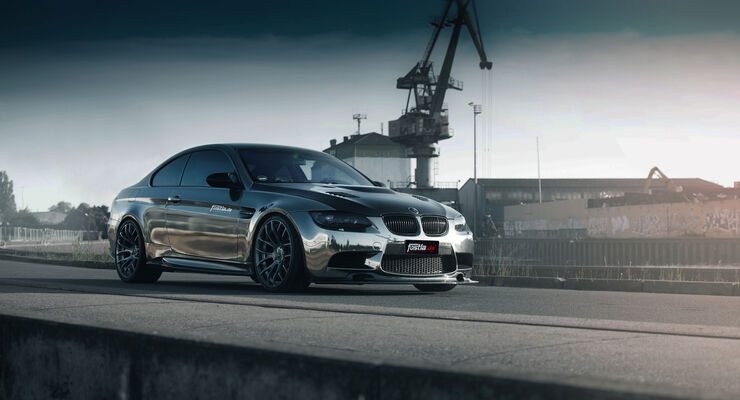 BMW M3-Coupé Black Chrome by Fostla.de