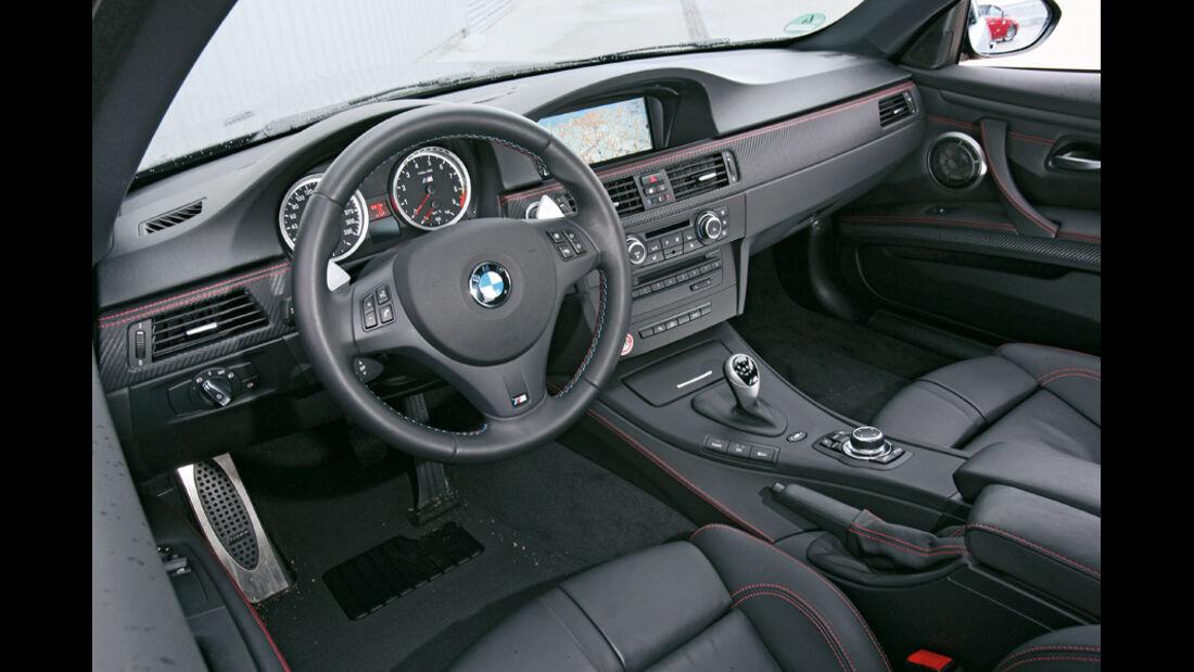 BMW M3 Coupé, Cockpit
