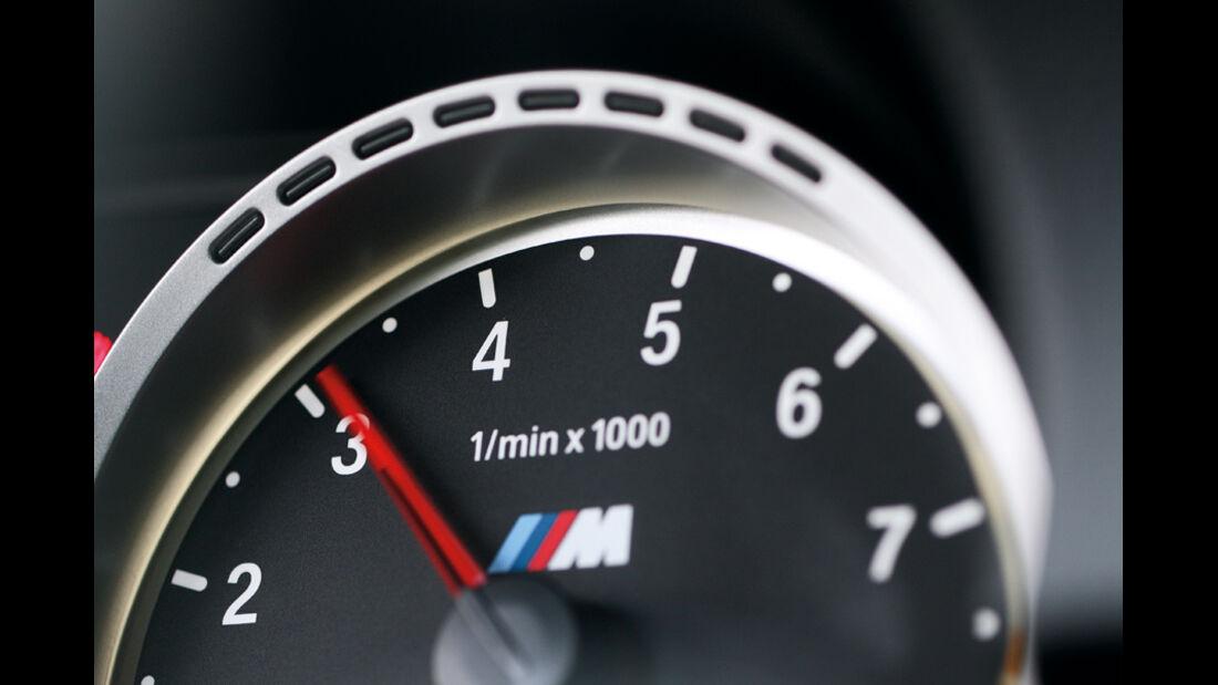 BMW M3 Coupé, Drehzahlmesser
