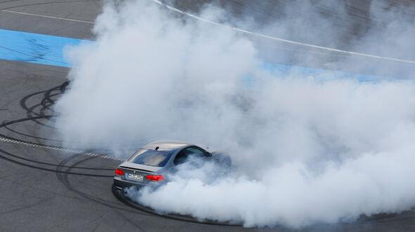 BMW M3 Coupé  E92, Burnout, Driften