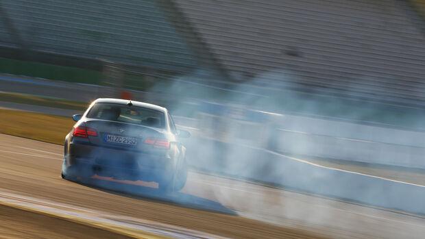 BMW M3 Coupé  E92, Heckansicht, Driften