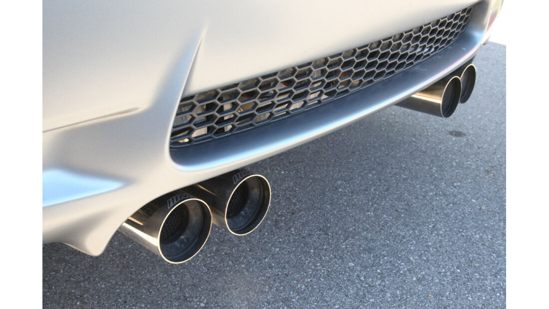 BMW M3 Coupe Competition, Auspuffanlage