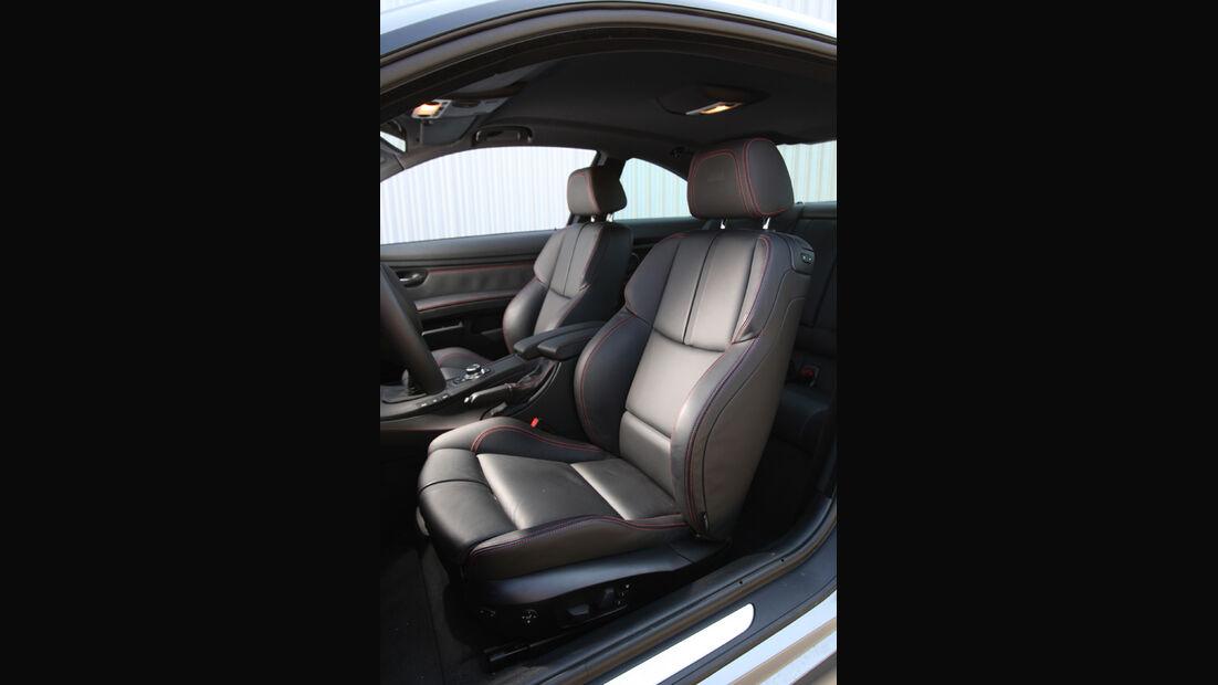 BMW M3 Coupe Competition, Fahrersitz