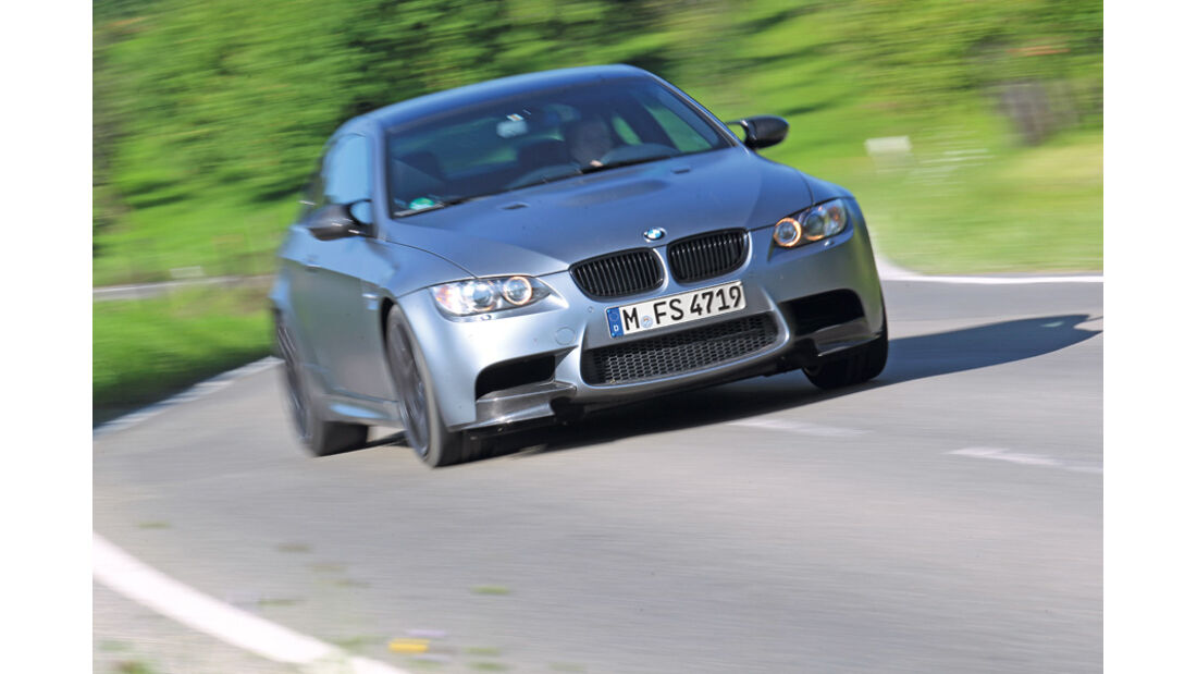 BMW M3 Coupe Competition, Frontansicht