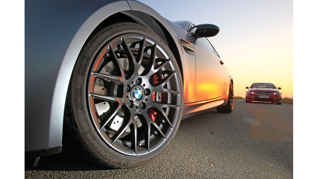 BMW M3 Coupe Competition, Mercedes C 63 AMG Performance Package, Felge