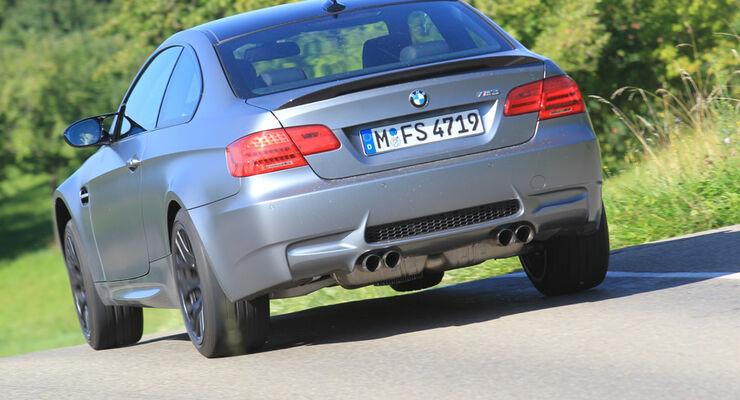 BMW M3 Coupe Competition, Rückansicht, Heck