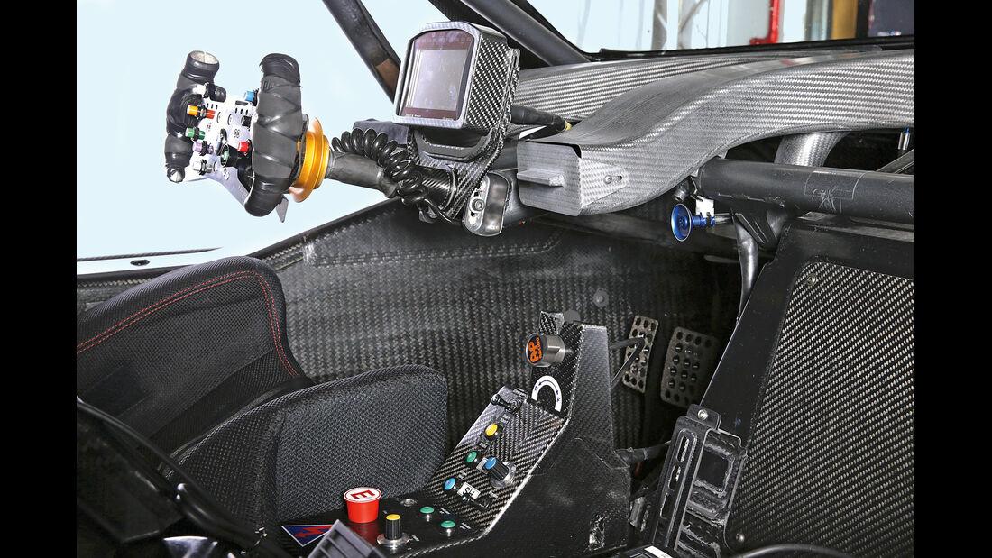 BMW M3 DTM, Cockpit, Lenkrad