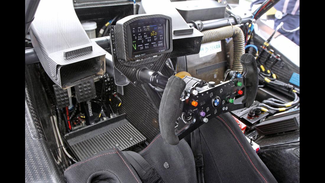 BMW M3 DTM, Cockpit, Lenkrad, Bedienelemente