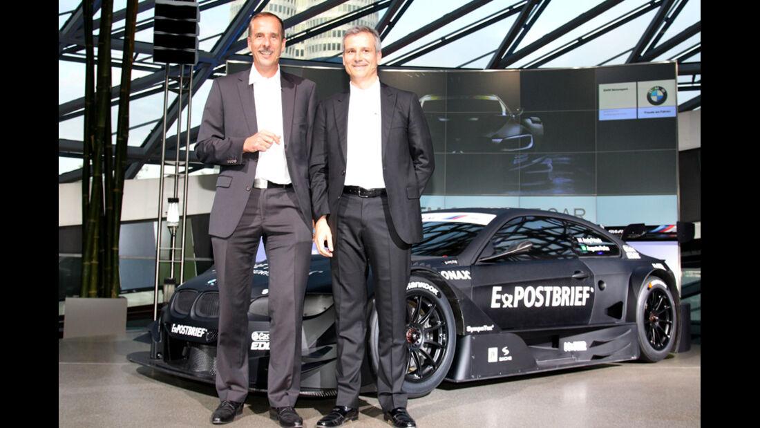BMW M3 DTM Concept Präsentation München 07/2011