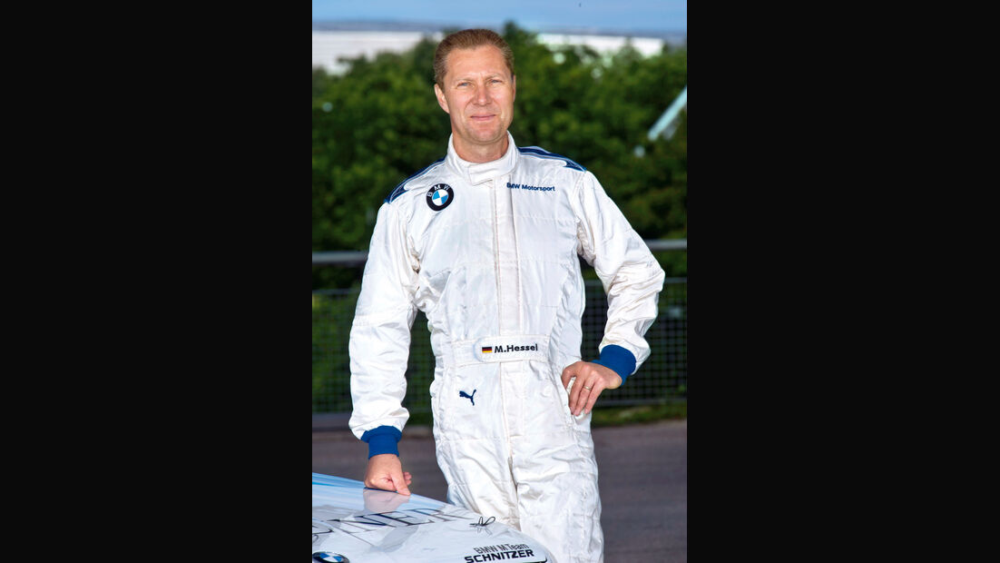 BMW M3 DTM, Marc Hessel
