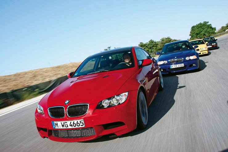 BMW M3 (E 30, E 36, E 46, E 92, E 46)