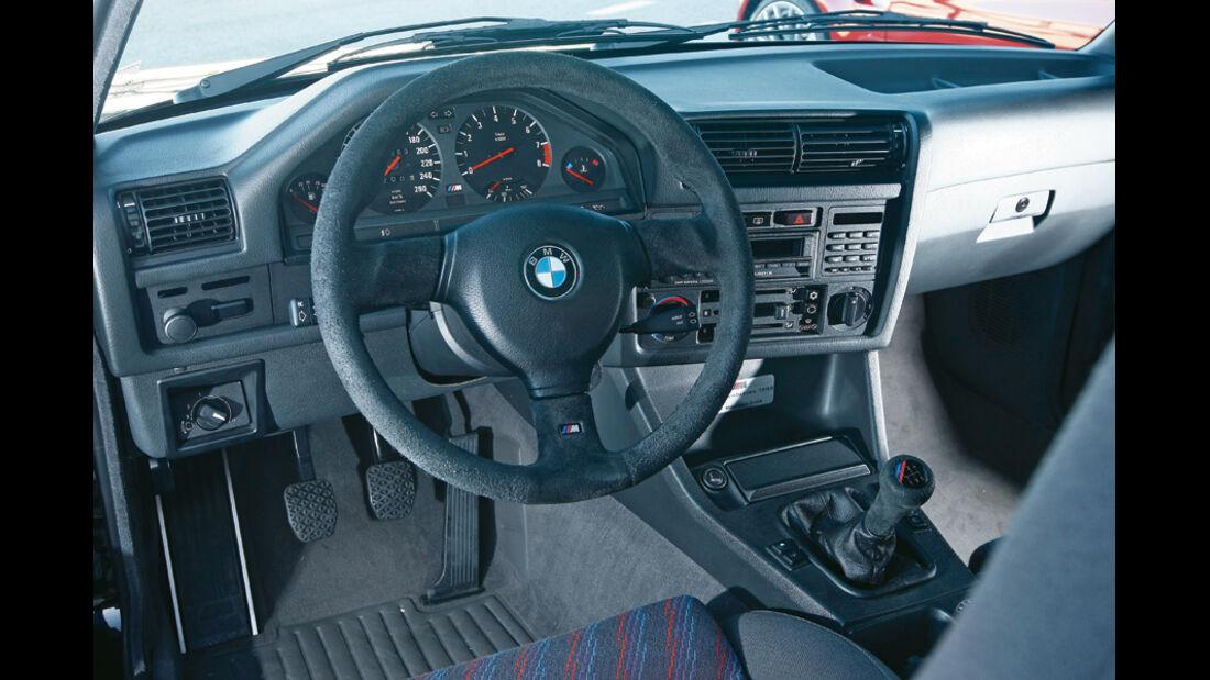 BMW M3 (E 30), Innenraum