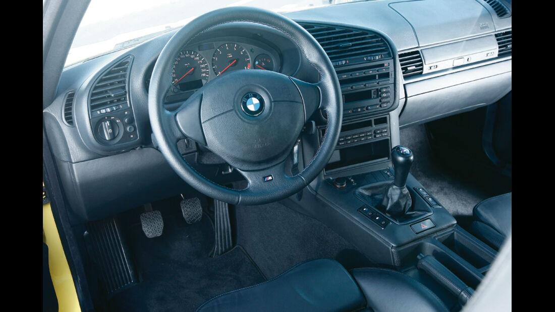 BMW M3 (E 36), Innenraum