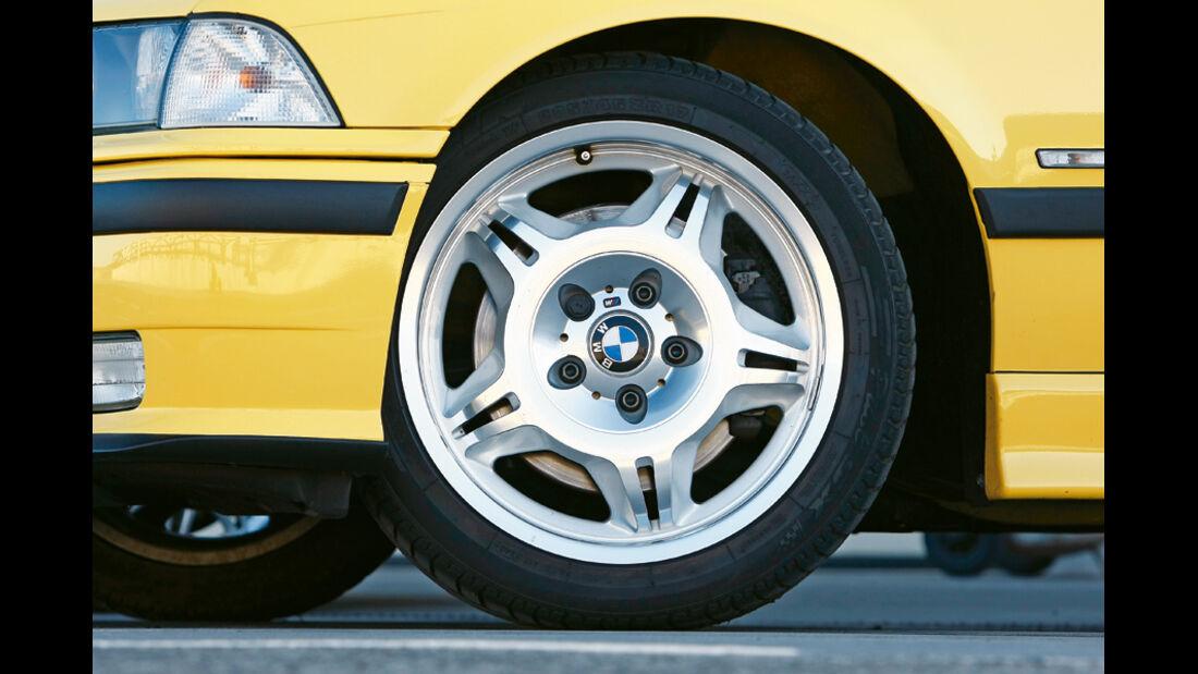 BMW M3 (E 36), Rad