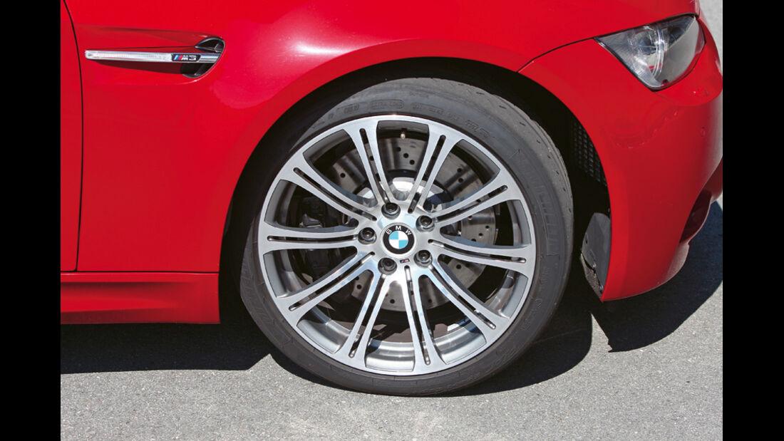 BMW M3 (E 92), Rad