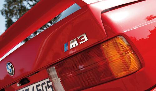 BMW, M3, E30 (1986-1991), Heck, Emblem