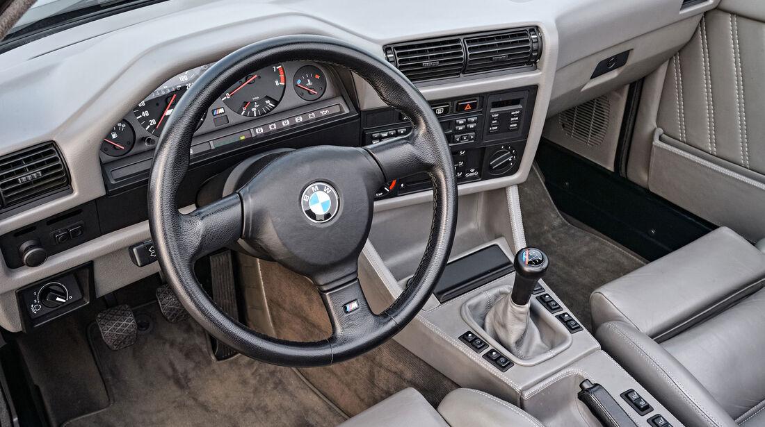 BMW M3 E30 Cabrio - Lenkrad - Innenraum