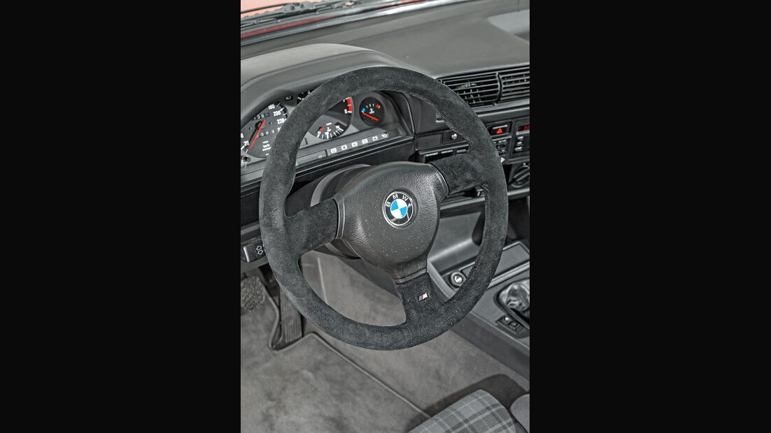 BMW M3 E30, Cockpit