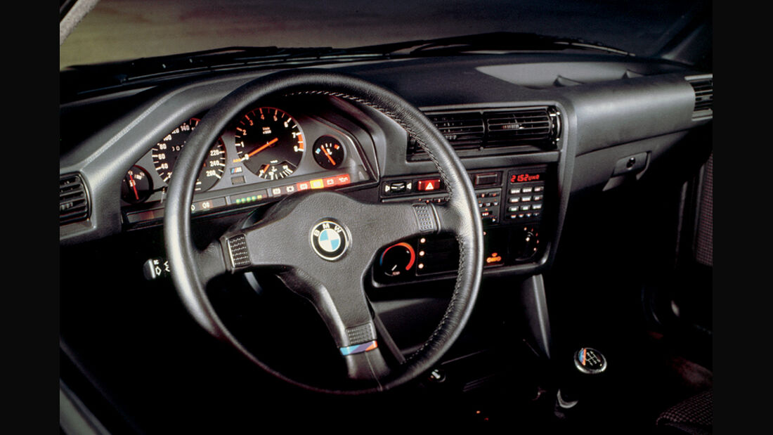 BMW M3, E30, Cockpit, Lenkrad