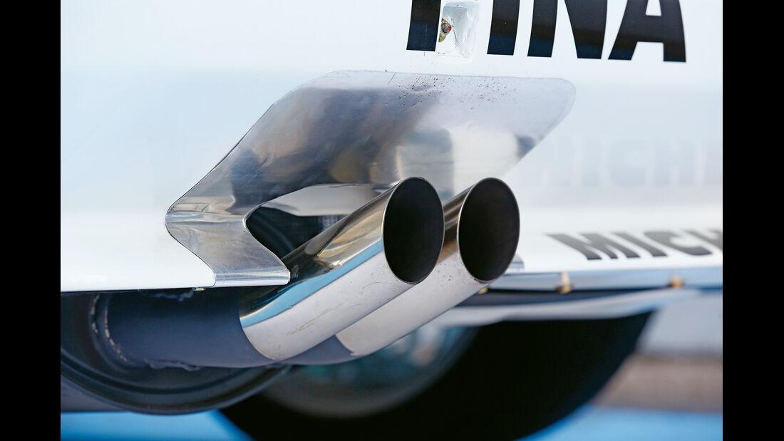 BMW M3 E30 DTM, Auspuff, Endrohre