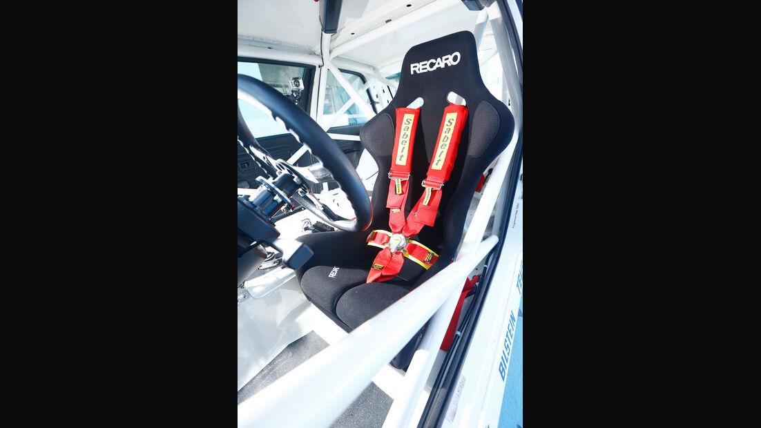 BMW M3 E30 DTM, Fahrersitz