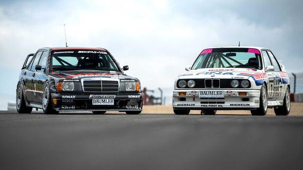 BMW M3 E30 DTM Mercedes 190E Evo DTM