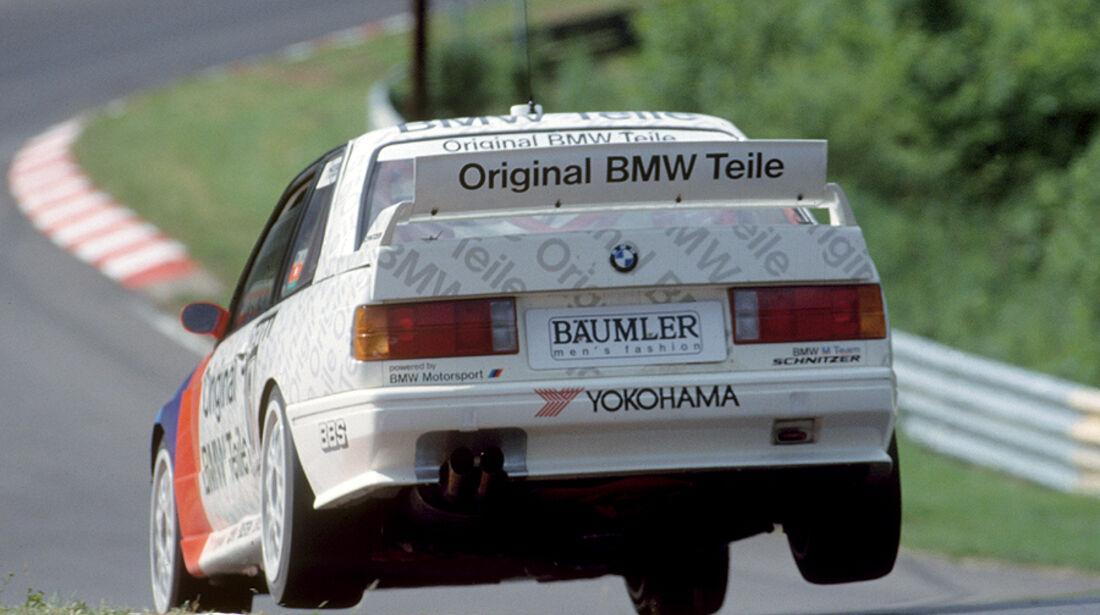BMW M3, E30, DTM, Nordschleife, Sprung