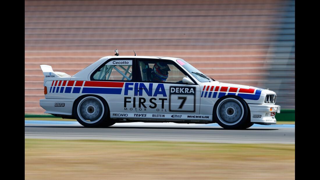 BMW M3 E30 DTM, Seitenansicht