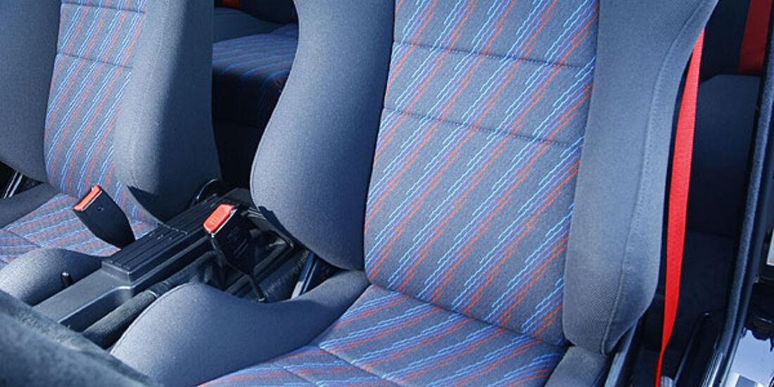 BMW M3 E30,Fahrersitz