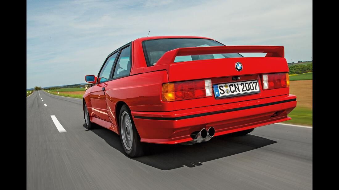 BMW M3 E30, Heckansicht
